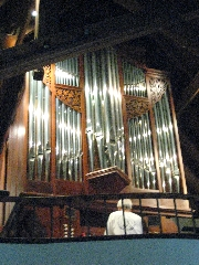 Pipe organ at Saint Stephen's Episcopal Church,